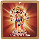 #8: Panchmukhi Hanuman Acrylic Wall Frame for South, South-West Main Door, Vastu Dosh Rectification Remedy of Home, Office and Factory