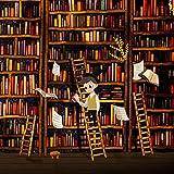 TiMOVO Kindle Paperwhite Funda (2018 Release), Prima Voltear Verticalmente Cubierta con Cierre Magnético y Activación/Suspensión Automática para Kindle Paperwhite E-Reader - Estanteria de Libros