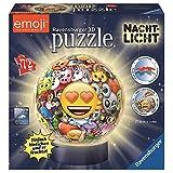 Ravensburger - 3D Puzzleball: Nachtlicht Emoji 72 Teile .