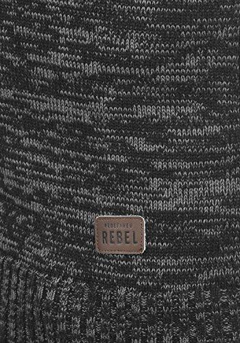 REDEFINED REBEL Mateo - maglia da uomo Black
