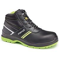 Stivali di sicurezza per uomo e donna, impermeabili, con resistenza elettrica/scarpe, stivali di sicurezza robusti…