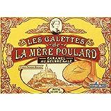 Biscuiterie Mère Poulard Galettes Caramel Boîte Carton de 300 g