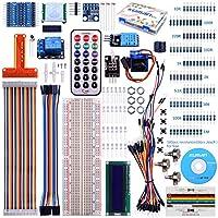 Kuman 8-Kanal-Logikpegel Konverter Wandler Digital Thermo-Hygrometer Sensor for Raspberry Pi 3 Zero Starter Projects Kit with a LCD Screen DIY Temperature Humidity Sensor for Kids K71