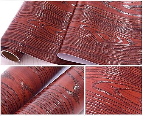 imitation Grain de bois contacter papier autocollant en vinyle Shelf