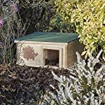 clifford james hedgehog house wooden garden nature hibernation box with waterproof pitched roof CLIFFORD JAMES Hedgehog House Wooden Garden Nature Hibernation Box with Waterproof Pitched Roof 61Q9vArgPRL