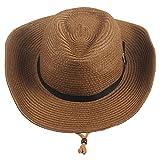 Sidiou Group Uomo Cappelli da cowboy Donne Cappa da spiaggia Unisex Fedora  Trilby Cappello Hat Hat c9ec6fc16f8e