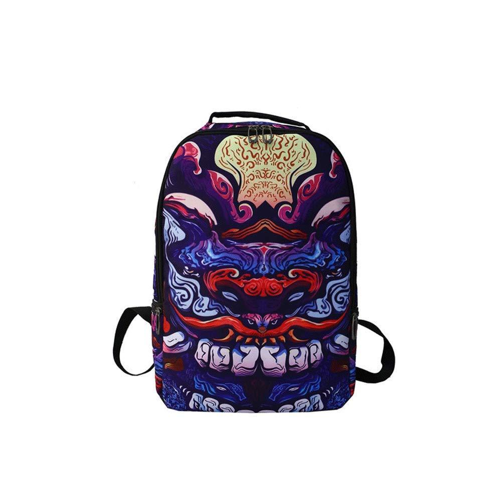 nuovo prodotto 88652 ea8bc Zaino - zaino di marca di personalità degli uomini zaino di tendenza della  moda marea hip hop Oxford creativo zaino di scuola superiore sacchetto di  ...
