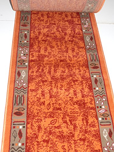 Preisvergleich Produktbild Teppich Läufer nach Maß Terra 1066 lfm. 19,90 Euro 100 x 480 cm