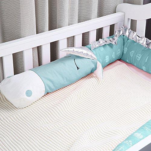 i-baby Nestchen 3D Cartoon Animal Head Guard Bumper Kinderzimmer Betten Bumper Innen Schutz für Kinderbett - 5