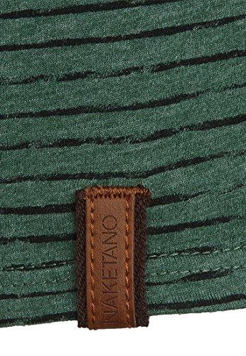 Naketano Male T-Shirt Hosenpuper Pine Green Melange