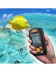 INLIFE Portable Detector de Pesca, on Sensor Sonar, para Kayak Pesca, Pesca Mar, Detector de Agua