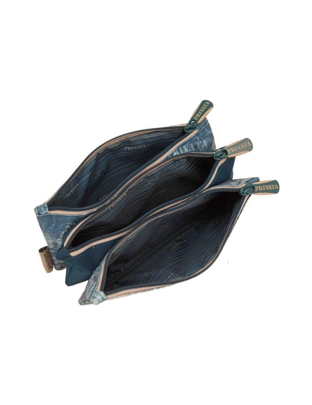 Privata West Estuche 3 bolsillos (23x11x4 cm)