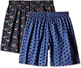 Jockey Men's Cotton Printed Boxers with Side Pockets - Pack of 2 - Assorted Colours (US57-0210-ASSTD-L)