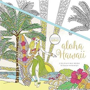 Kaisercraft - Libro para colorear Aloha Hawaii (CL536)