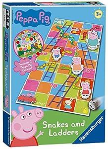 Ravensburger Peppa Pig - Juego de Serpientes y escaleras