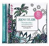 CD Zencolor Meditationsklänge: Musik für entspannte Ausmalpausen
