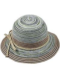 TININNA Vintage Stile Etnico Grande Bordo Largo all aperto Cappello da Sole  Estivo Berretto di 95a082798344