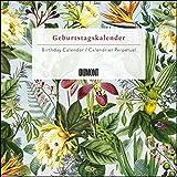Immerwährender Geburtstagskalender floral 2020 ? Archive by Portico Designs ? Quadrat-Format 24 x 24 cm -