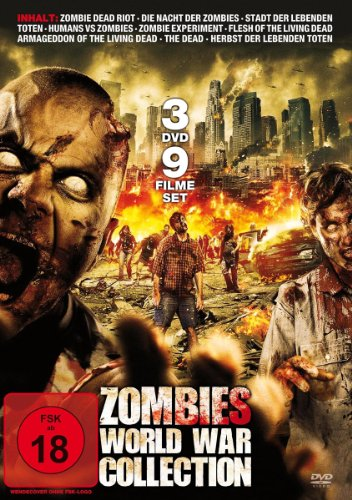 Zombies World War Collection [3 DVDs] (Auf Zombie-filme Die Dvd)