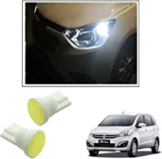 Vheelocityin Car Ceramic Button Shape White LED Parking Bulbs (set of 2) For Maruti Suzuki Ertiga