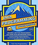 Java: Interview Questions & Programming, LV1 - The Fundamentals; BECOME A BETTER PROGRAMMER. Great for: hacking, computer algorithms, app development, ... (Programming & Interview Questions Series)