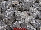 ca. 800 Kg Bruchsteine grau weiß, 100-300 mm im Drahtkorb