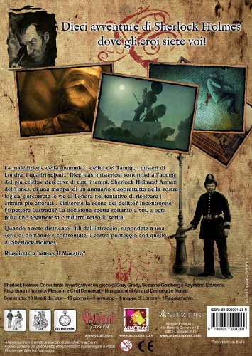 Consulente Investigativo I Delitti del Tamig Asmodee STR8551b Sherlock Holmes