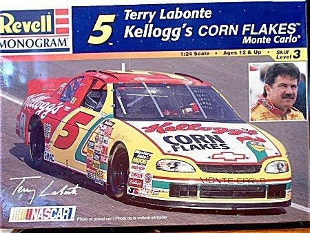 Preisvergleich Produktbild 5 Terry Labonte Kellogs Corn Flakes Monte Carlo 1:24 Scale Model Kit by Revell-Monogram
