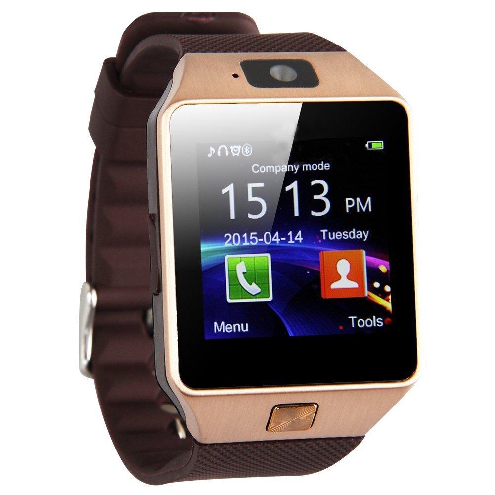 reloj de telefono elegante - TOOGOO(R) DZ09 Reloj de telefono inteligente de Bluetooth para telefono inteligente de… 1