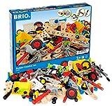 BRIO 34589 - Builder Kindergartenset 270-teilig, Bau Konstruktionsspielzeug