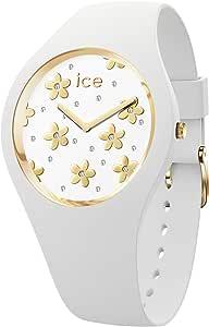 Ice-Watch ICE Flower Precious White, Orologio Bianco da Donna con Cinturino in Silicone
