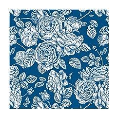 Idea Regalo - Maxi Products Tovaglioli di carta decorata con un design Royal - Colore blu - ideale per decorazione di matrimoni, comunioni, feste per bambini o compleanni - 33 x 33 cm - 20 unità