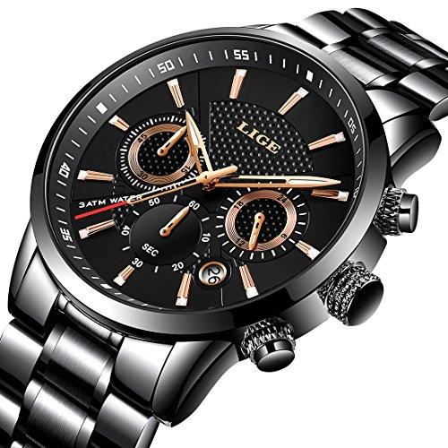 Herrenuhren Männer Uhren Sport Digitale Led Wasserdichte Uhr Luxus Männer Analog Digital Military Armee Mode Männer Elektronische Uhren Exzellente QualitäT