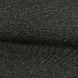 Wollstoff Salz & Pfeffer schwarz grau Winterstoffe - Preis