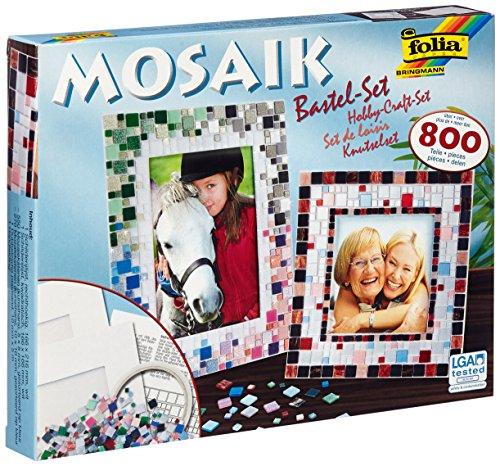 Folia 57019 Mosaik-Bastel-Set, �ber 800 Teile