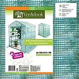 Telo di ricambio in PE retinato per serra a casetta 6 ripiani 647/24 VerdeLook immagine