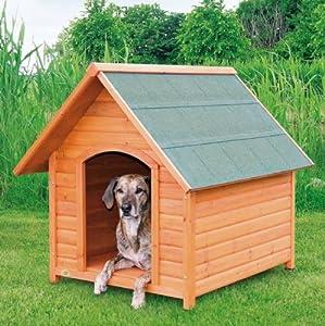 Trixie Niche pour chien Natura avec selle Roof-parent