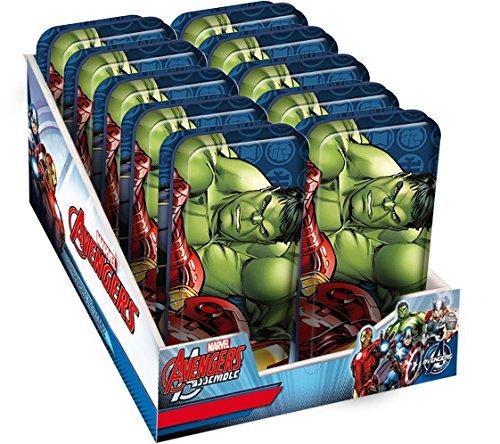 Portatodo metalico de Avengers