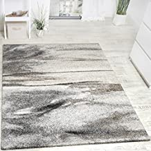 Teppich Meliert Modern Webteppich Wohnzimmerteppich Hochwertig In Grau Beige Grsse160x230 Cm