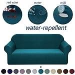 WAXCC Sofa Slipcovers Soft Fleece Fabric Sofa Cover Waterproof Sofa Corner Sofa Cover For Living Room Sofa Cover Sofa