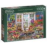 Jumbo 11196 - Falcon de Luxe Flora's Flower Shoppe, 1000 Teile Puzzle