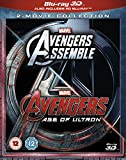 Avengers Assemble/Age of Ultron (3D) [Blu-ray] [Import anglais]