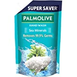 Palmolive Naturals Sea Minerals Liquid Hand Wash, 750ml Refill Pack, Removes 99.9% Germs, Refreshing Fragrance