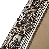 Bilderrahmen im Barockstil Silber 60×70/ 40×50 cm (Antik) Im Retro-Vintage look. In Handarbeit hergestellt für Künstler, Maler. Idealer Gemälde-Rahmen für Ausstellungen STAR-LINE® - 6