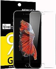 Panzerglas iPhone 6s / 6, NEWC® Tempered Glass 9H Härte, Frei von Kratzern Fingabdrücken und Öl, HD Displayschutzfolie, 0.33mm Ultra-klar, panzerglas schutzfolie für iPhone 6s / iPhone 6