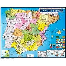 Erik MPGE0071 - Mini Póster Mapa De España