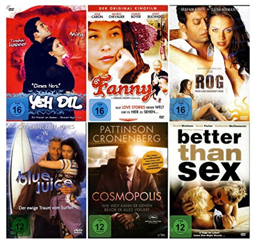 Die ultimative Romantik Erotik Box Collection (6 DVDs - 6 Filme)