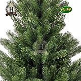 Künstlicher Weihnachtsbaum Spritzguss Nordmanntanne ca. 90 cm Premiumtanne Kunsttanne - 2