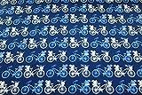 Jerseystoff Designerjersey Fahrräder (10 cm)