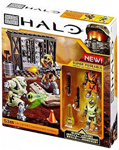 Mega Bloks Halo, Containment Armory (97516) (Containment Halo Bloks Mega)